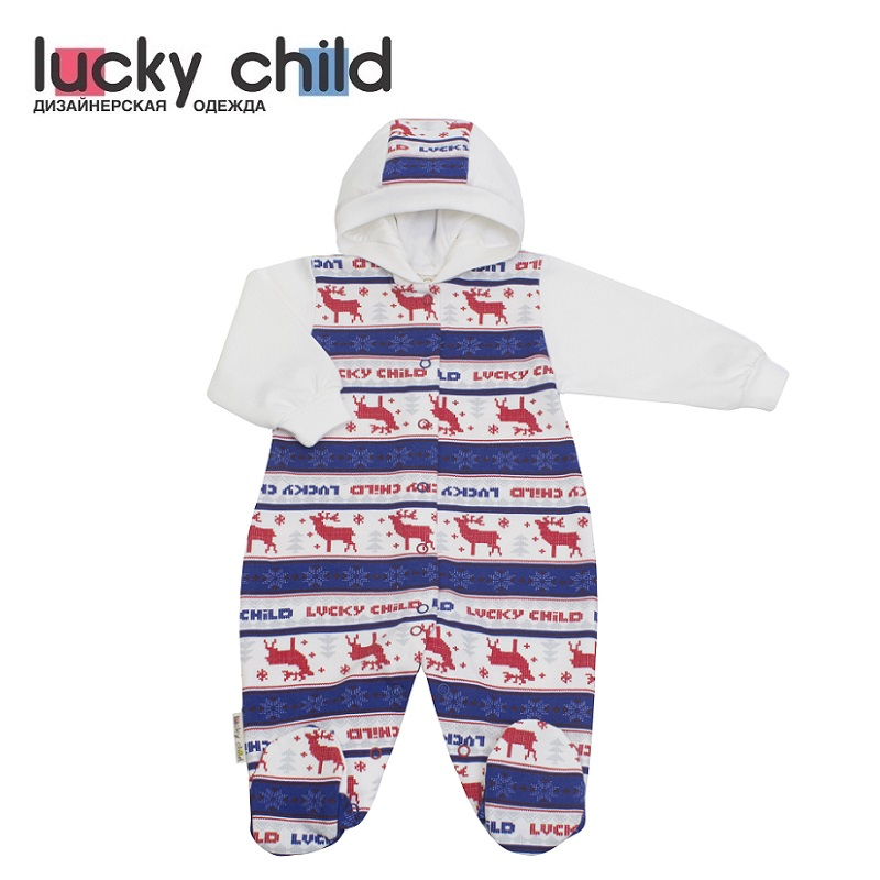 Jumpsuit Lucky Child for boys and girls 10-3f Children's clothes kids Rompers for baby
