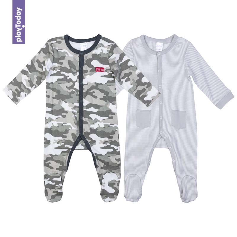 Rompers PLAYTODAY for boys 377808 Children clothes kids clothes baby rompers 100