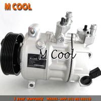 For AC Compressor Sanden PXE16 AC Compressor Audi Seat compressor skoda VOLKSWAGEN J etta 1K0820808 1K0820859