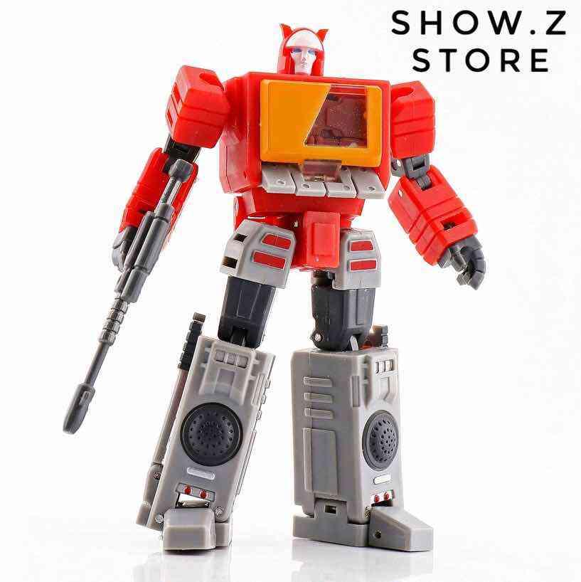 New MS-TOYS MS-B09 Trailblazer mini Trailbreaker Transformers Action figure toy