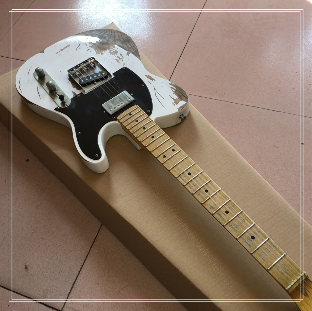 baddog best selling Free delivery 10s Custom Shop status quo guitarist Rick Parfitt electric guitar to do the old style old tail status quo status quo piledriver deluxe edition 2 cd
