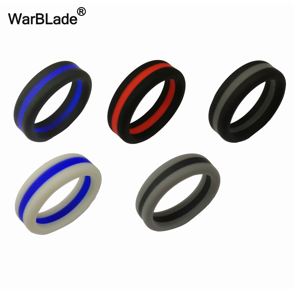 silicone wood ring wedding unique rubber rings black beautiful grain band of