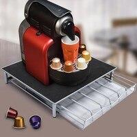 36 מחזיק בעל לעמוד נירוסטה קפה תרמיל קפה כמוסה לצבור מדף אחסון מגירת אחסון לדולצ 'ה גוסטו