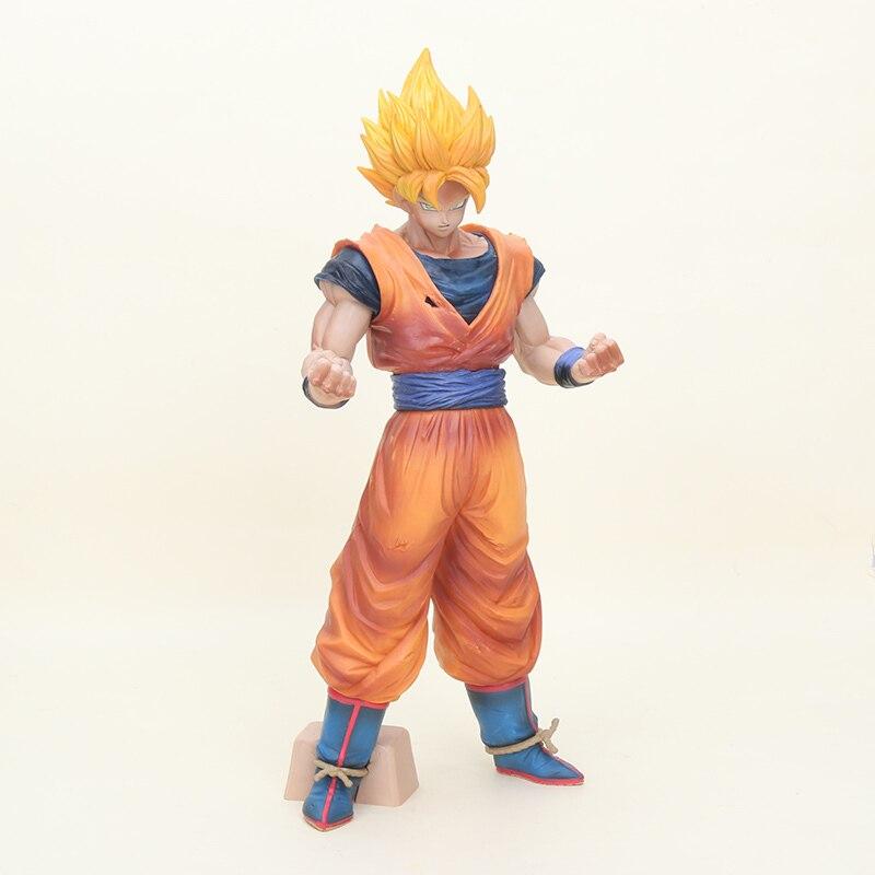 31 cm Big Size Dragon Ball Z Son goku Figurine Risoluzione Di Soldati Grandista Goku PVC Figure Da Collezione Model Toy regali