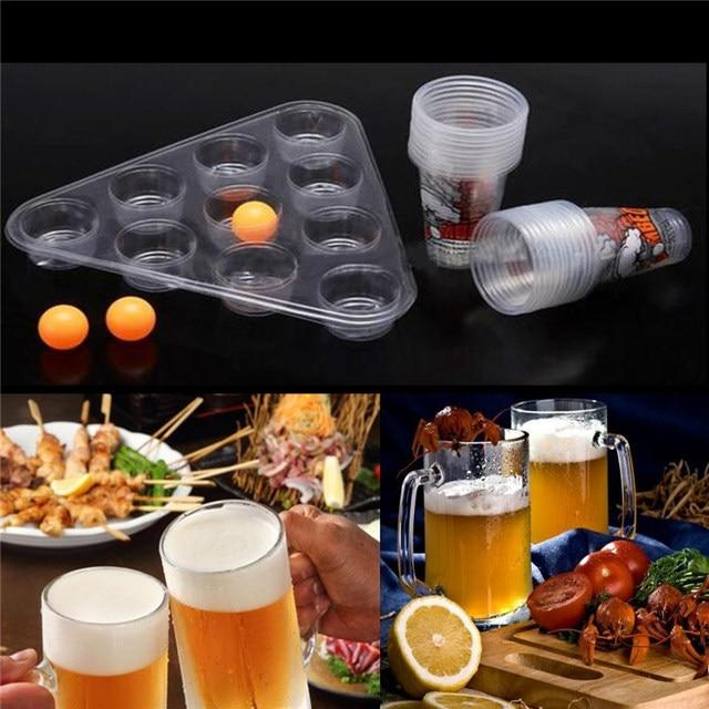Nueva Entretenimiento Superior Juegos De Mesa Cerveza Pong Kit Party