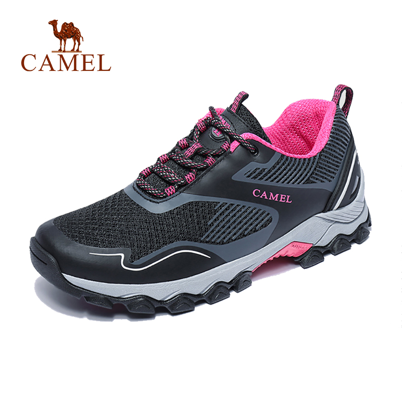 CAMEL Women Outdoor Camping Trekking Hiking Shoes Non-slip Breathable Anti-slip Travel Walking Sneakers