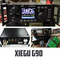 2019 Newest XIEGU G90 QRP HF Amateur Radio Transceiver 20W SSB/CW/AM/FM 0.5 30MHz SDR Structure with Built in Auto Antenna Tuner