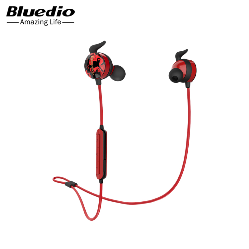 Headphones Bluedio Ai wireless