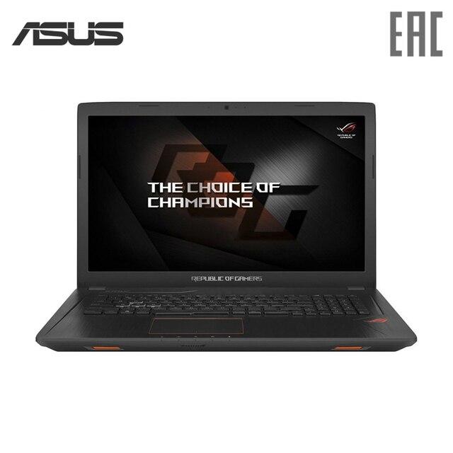 "Ноутбук игровой ASUS ROG GL753VD 17.3 ""/i7 7700HQ/8 ГБ/2 ТБ + 128 ГБ SSD/ GTX1050/DVD/Win10/черный (90NB0DM2-M04420)"