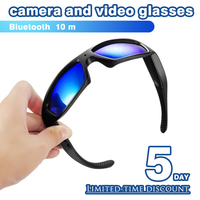 Smart Glasses With Video Camera Upgraded Version DV Bluetooth Stereo Headset Polaried Camera Digital Video HD