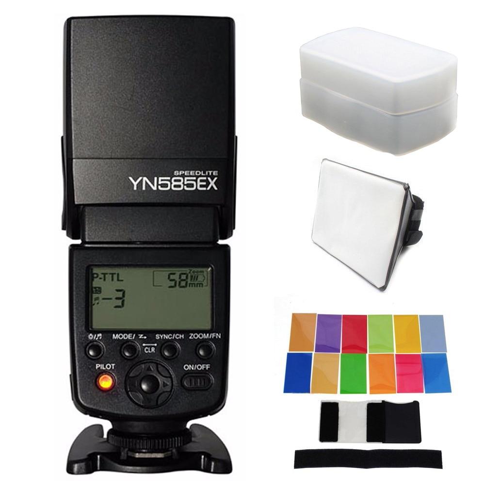 Yongnuo YN585EX YN-585EX P-TTL Sans Fil Flash TTL Speedlite Pour Pentax K70 K50 K1 KS1 KS2 645Z K3 K5 II K30 K100 Caméra