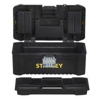 스탠리 STST1-75518-Plastic 도구 상자 16 인치 단일-40 cm 금속 폐쇄