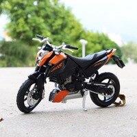 1:18 Schaal Maisto KTM 690 Duke Motorbike Race Cars Mini Motorfiets Voertuig Modellen Kantoor Speelgoed Geschenken voor Kinderen