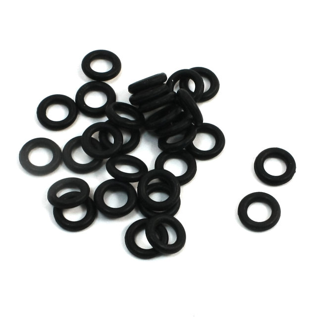 UXCELL 7Mm X 4Mm X 1.5Mm Rubber O Rings Oil Seal Gasket Washer ...