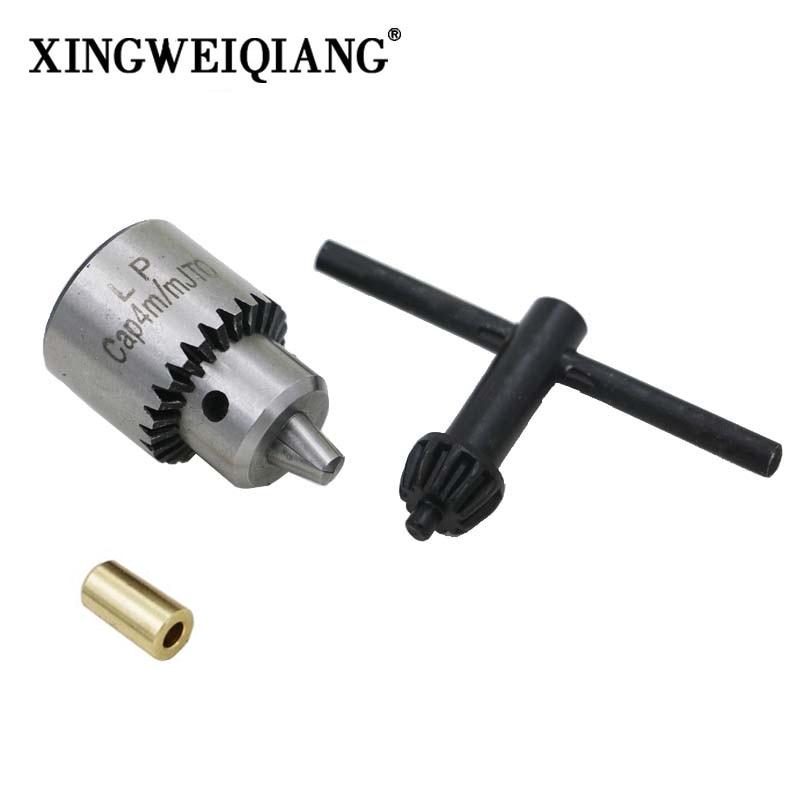 Mini Electric Drill Chuck 0.3-4mm JTO Taper Mounted Lathe Chuck PCB Mini Drill Press For Motor Shaft Connecting Rod 3.17mm