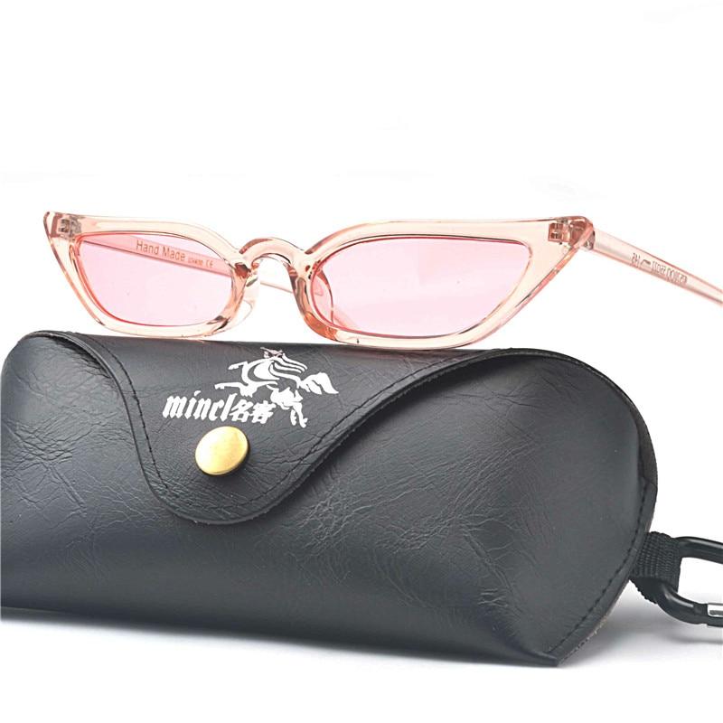 Fml black Sole Moderna Gatto Pink Vintage Piccolo leopard Triangolo Carino Femminile Occhiali Di yellow whtie Del Piccola Progettista Retro Dimensione Gary Donne red Da purple Delle qT1U7t