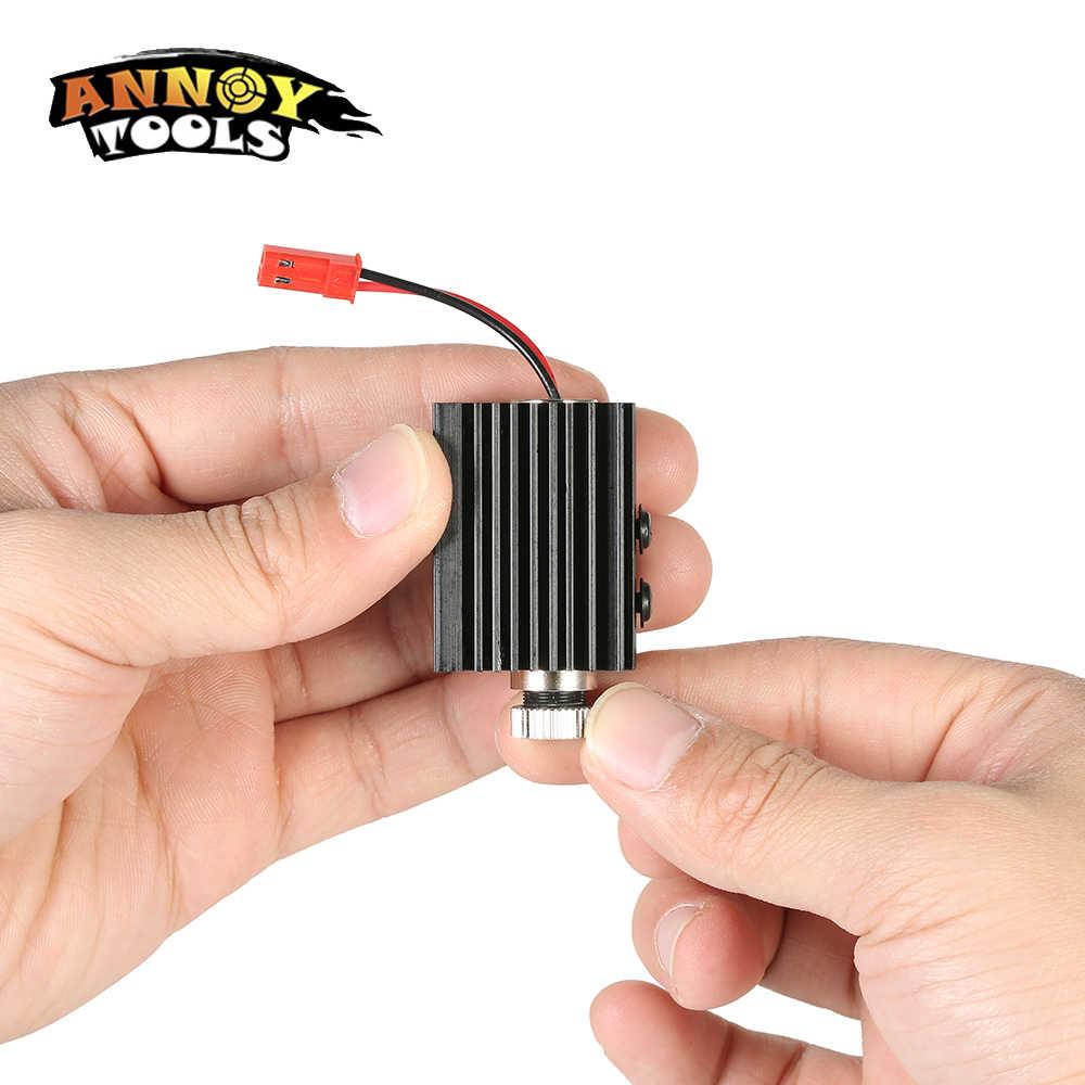 1000mW 1500MW 405nm Blueviolet אור לייזר ראש לייזר מודול חרט אבזר עבור CNC לייזר גילוף חריטת מכונת