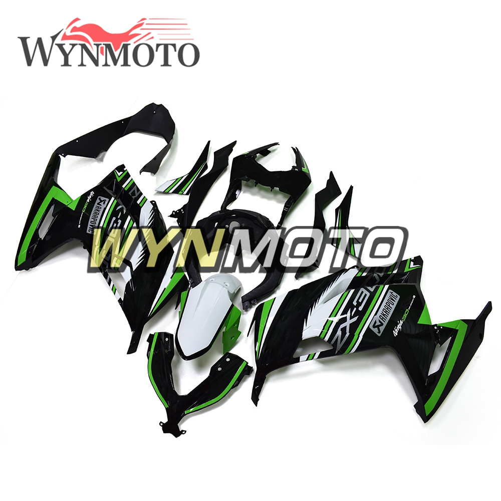 Motorcycle Fairings Gloss Green Black White For Kawasaki Ninja 300 13 14 2013 2014 ABS Plastic Injection Fairing Kit Cowlings full fairings for honda cbr cbr600rr f5 year 13 14 2013 2014 abs plastic motorcycle fairing kit bodywork cowling asia pata