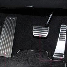 Для Volvo XC60 XC90- S90 V90 Нескользящие газа топливного Тормозная Подножка Мертвых Педали Пластины Комплект отделка