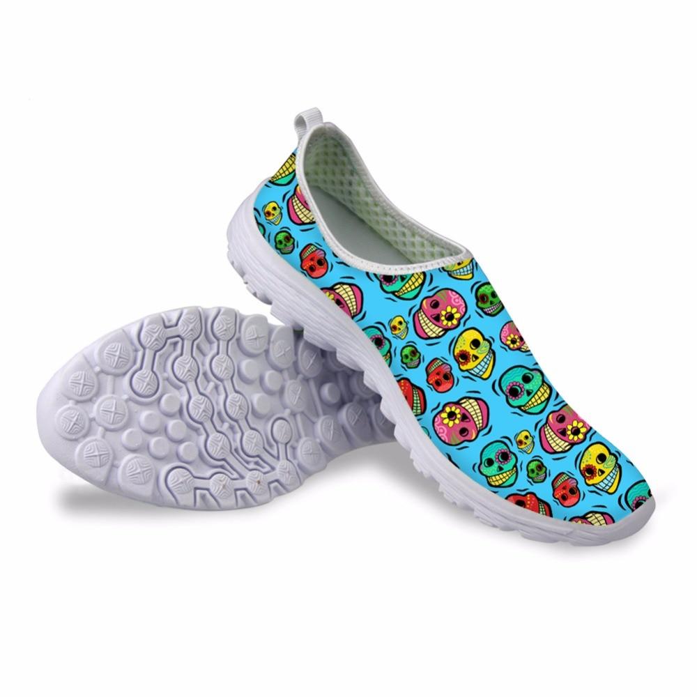 Noisydesigns Գանգ 3D տպագիր menshoes - Տղամարդկանց կոշիկներ
