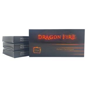Image 5 - 10pcs דרקון אש קעקוע מחסנית המחטים העגול Shader הפנוי חצי קבוע איפור גבות מחטי 3RS/5RS/7RS/9RS/11RS
