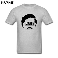 Basic Style T Shirts Men S White Short Sleeve Custom Narcos Pablo Escobar Family Clothes Tops