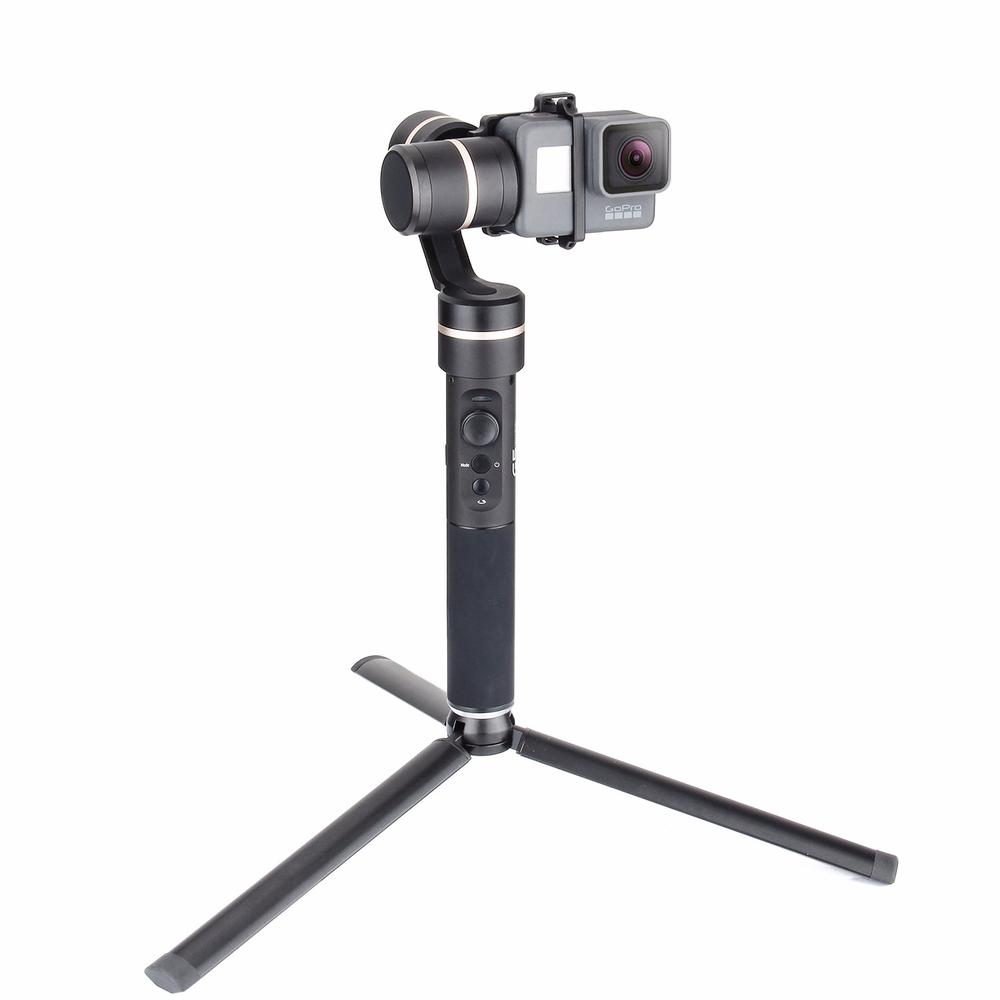 Feiyutech G5 V2 Updated 3 <font><b>Axis</b></font> Splash Proof Handheld Gimbal for GoPro Hero 5 4 3, Action Cameras with Mini Tripod