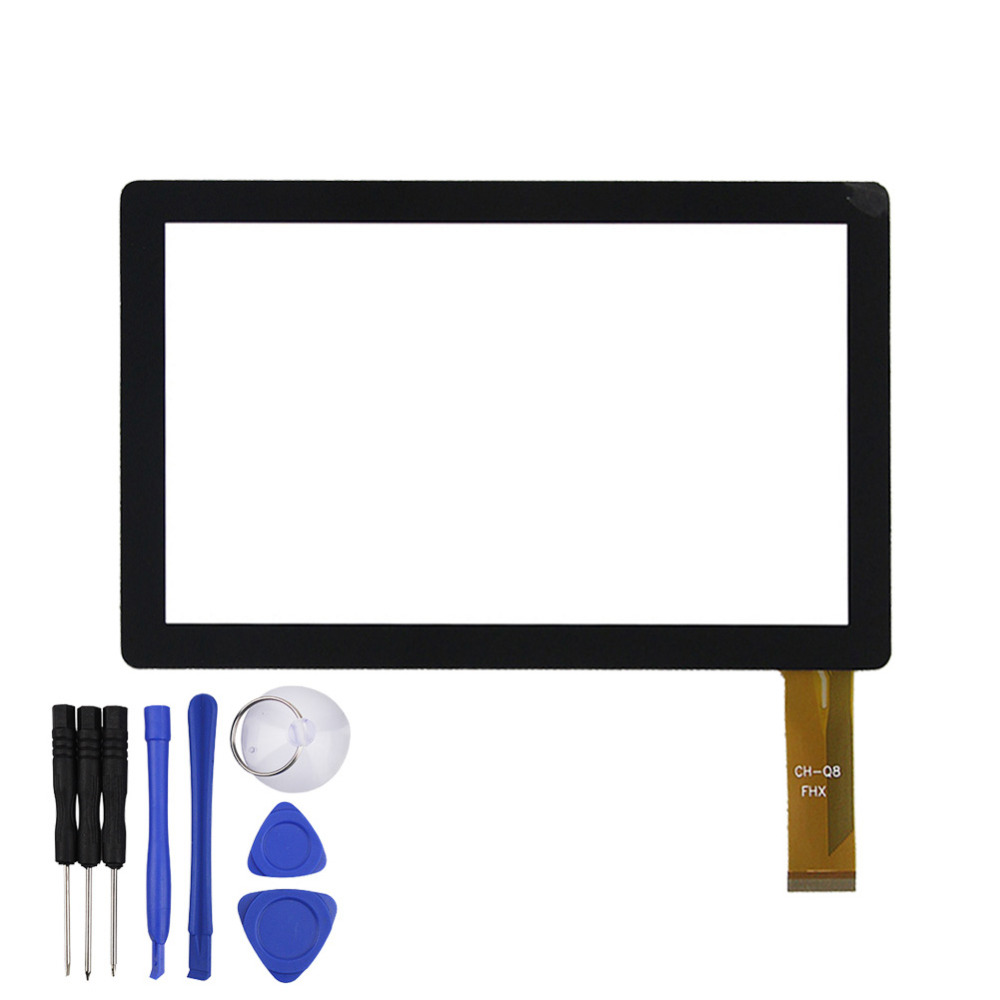 7 Inch Touch Screen For ALLWINNER A13 Q8 Q88 CUBE Q7 Tablet PC Capacitive Digitizer Glass Replacement With Free Repair Tools
