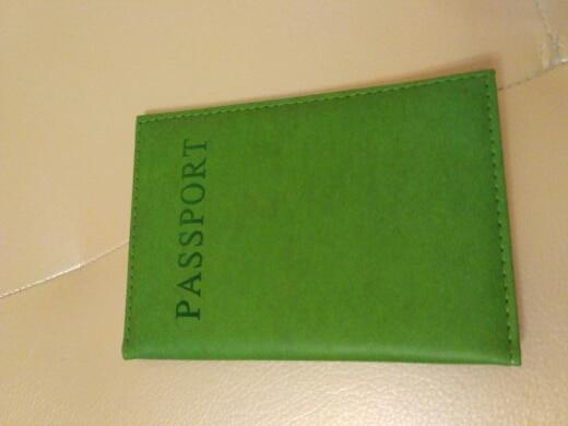 1PC Fashion New PU Women Passport Holder Couple Models Girls Travel Passport Cover Unisex Card Case Man Card Holder photo review