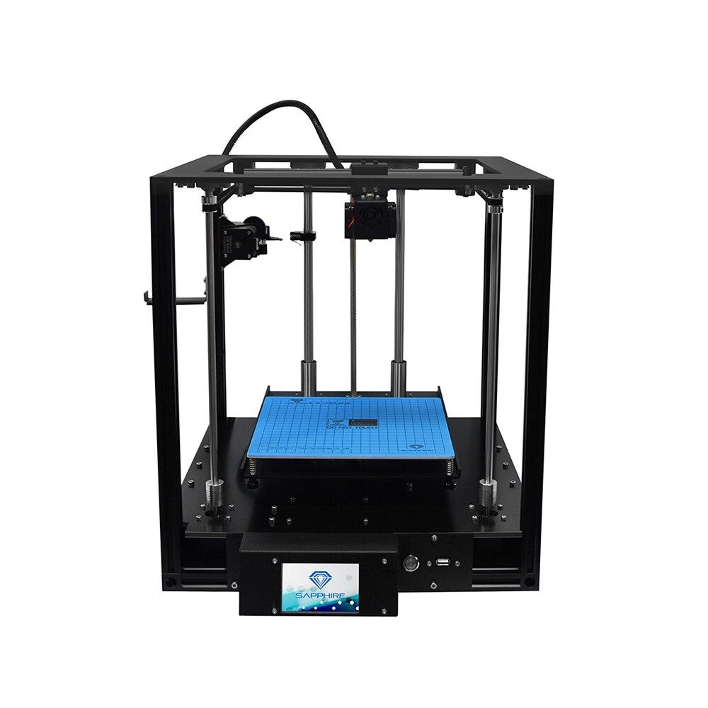FDM imprimante 3D 4.3 pouces écran tactile reprendre l'impression fonction de détection de Filament Titan extrudeuse Core-XY Structure bricolage imprimante 3D