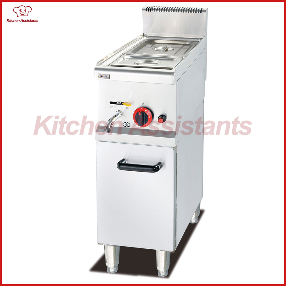 GH534TD Free standing Gas Bain Marie of catering equipment gh534 counter top commercial vertical gas bain marie of catering equipment