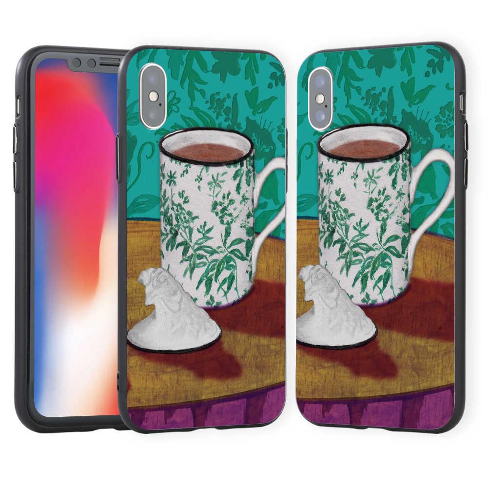 Copo Telefone Case Capa Voltar para iPhoneX 8 para Samsung Presente S8 para Huawei P9 para Xiaomi Redmi