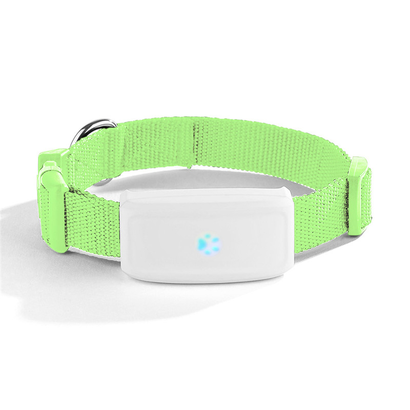 GPS WIFI Locator Dog GPS Tracker TK911 Mini Pet Tracking Device Waterproof Standby Time 16days Free App Web Tracking & App
