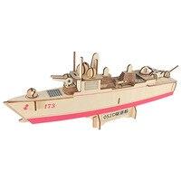 052D Destroyer ship models 3D diy wooden toys for boys&adults wooden ship model juguete modellismo navale kit in