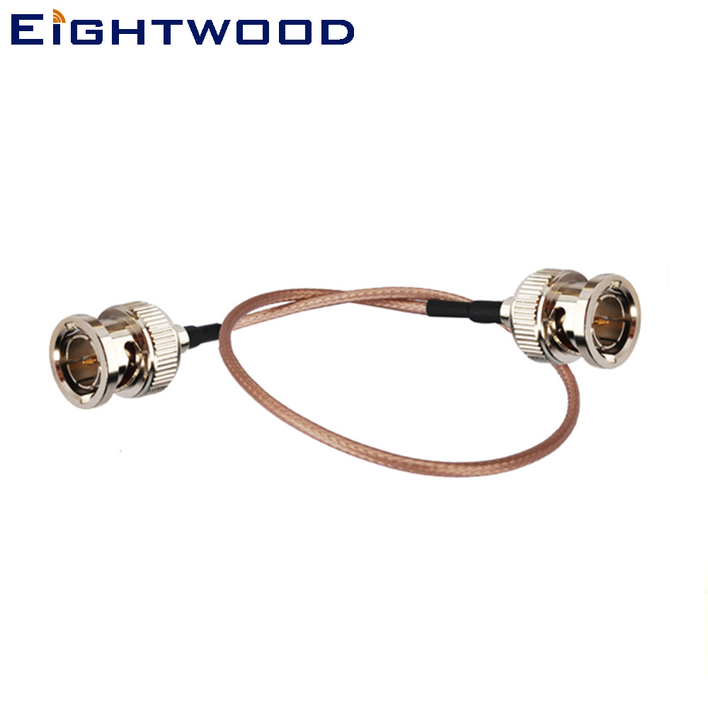 Eightwood vídeo HD SDI Cable BNC macho a macho RG179 para BMCC Video cámara Blackmagic