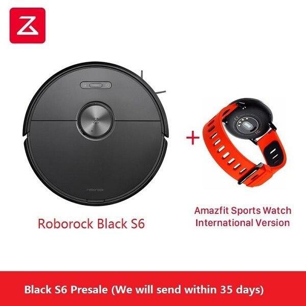 Odkurzacz Xiaomi Roborock S6 + Smartwatch Amazfit Xiaomi za $599.99 / ~2297zł