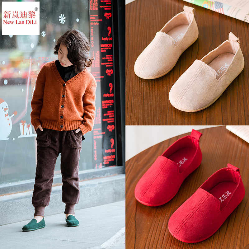 New boys Sneakers Children Shoes Kids Sneakers Girl Red Green  Slip-On Breathable Flat Shoes Infant Girl Hollow Casual Shoes