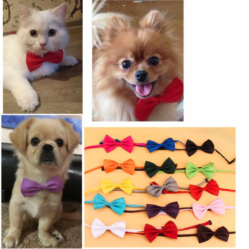 2e9e1bf2e1cc Fashion Cute Pet Bowknot Tie Bow Tie Necktie Collar Pet Clothing Dog Cat  Puppy Tie