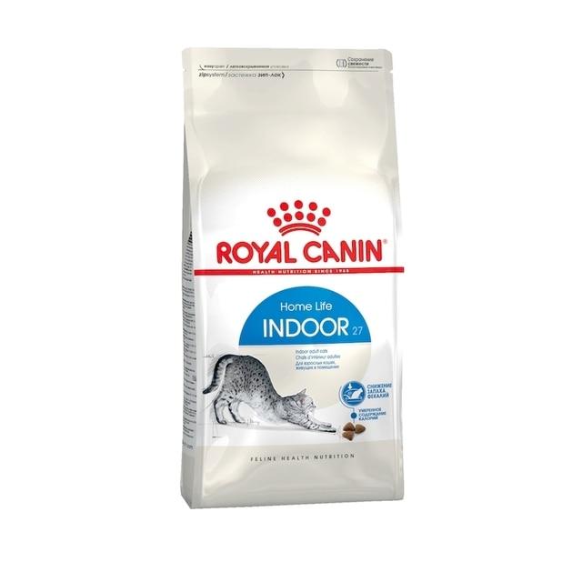 Royal Canin Indoor корм для домашних кошек, 2 кг