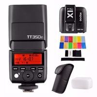 Godox TT350F + X1T F триггера 2,4 г HSS 1/8000 s ttl GN36 Камера Вспышка Speedlite для Fuji Камера s с EACHSHOT Цвет фильтры