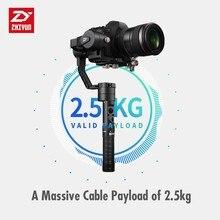 Zhiyun Guindaste Plus 3 Eixo Três Eixos Cardan Handheld Estabilizador para Todos Os Modelos de DSLR Mirrorless Canon 5D2/5D3/5D4 MINI Câmera DSLR