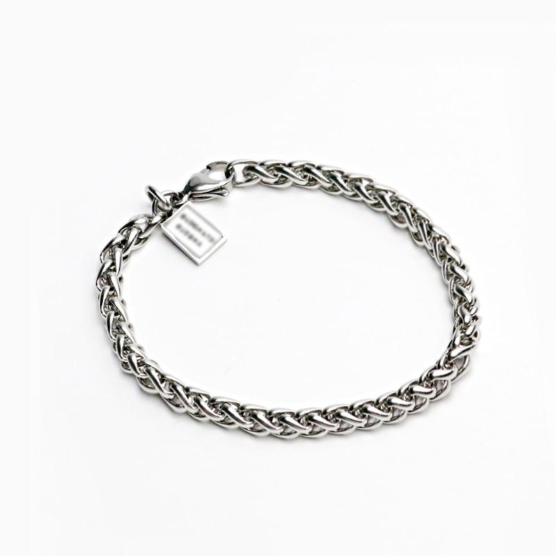 Hiphop Biker Edelstahl Link Kette Armband Für Männer Frauen Armband Hand Charme Link Armbänder Schmuck Weihnachten Geschenke 045
