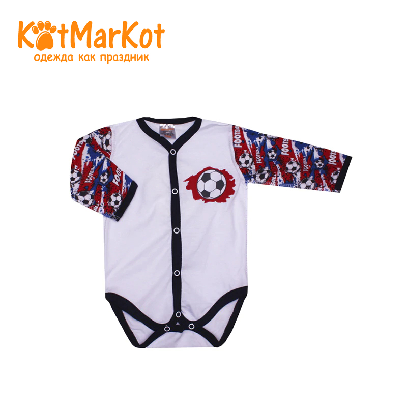 Bodysuit Kotmarkot 9559 children clothing cotton for baby boys kid clothes t shirt kotmarkot 7759 children clothing cotton for baby boys kid clothes