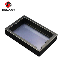 Kelant Anodized Aluminium Resin Vat Tank for Orbeat 3d Printer Fully Metal Frame and Durable FEP film and steel ring installed