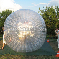 Free shipping inflatable hamster ball for sale pvc material body zorb ball best selling inflatable balls human size zorb ball