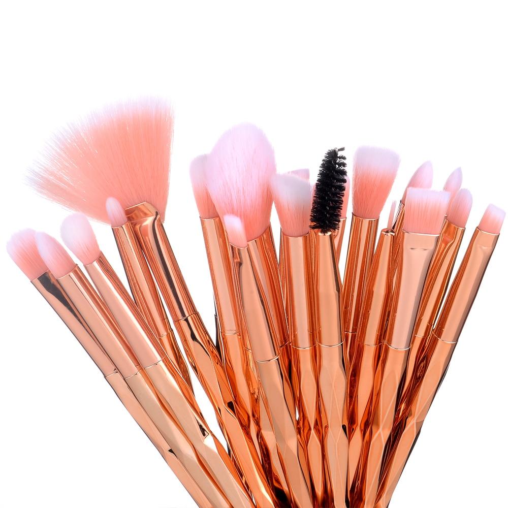 20Pcs Eyelash Makeup Brushes Set