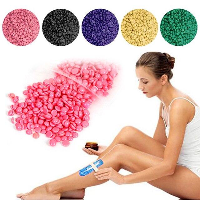 Pro ไม่เจ็บปวด Hair Wax Beans กำจัดขน Depilatory Wax Bean Body บิกินี่กำจัดขนครีมโกนหนวดสบู่ถั่ว