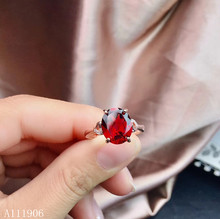 KJJEAXCMY boutique jewelry 925 sterling silver inlaid natural garnet gemstone female ring support review new luxury kjjeaxcmy boutique jewelry 925 sterling silver inlaid natural garnet gemstone female ring new support detection
