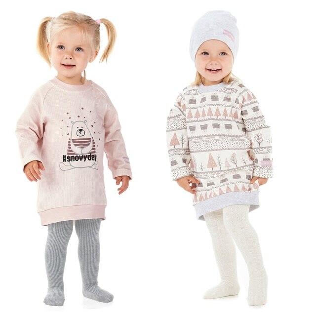 Платье-туника Lucky Child с начёсом для девочек, арт. 62-64f, 1 шт (Зимние каникулы) [сделано в России, доставка от 2-х дней]