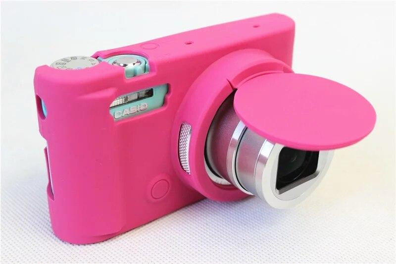 Hot Sale Silicone Camera Case Bag Cover for For Casio ZR3600 ZR3500 ZR5000 ZR5500 Camera 5 Colors Choose Neoprene Soft Lens bag